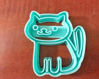 Neko Atsume kitty cookie cutter