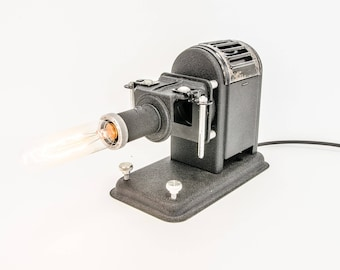 Dimmable lamp from old slide Projector-Trumpf