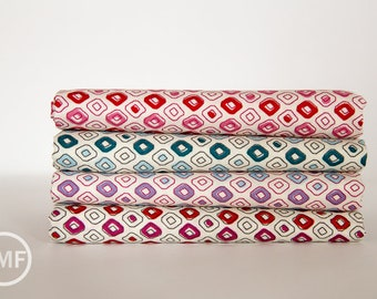 Half Yard Bundle Spellbound Tribal Dots, 4 Pieces, Urban Chiks, 100% Cotton, Moda Fabrics, 31115