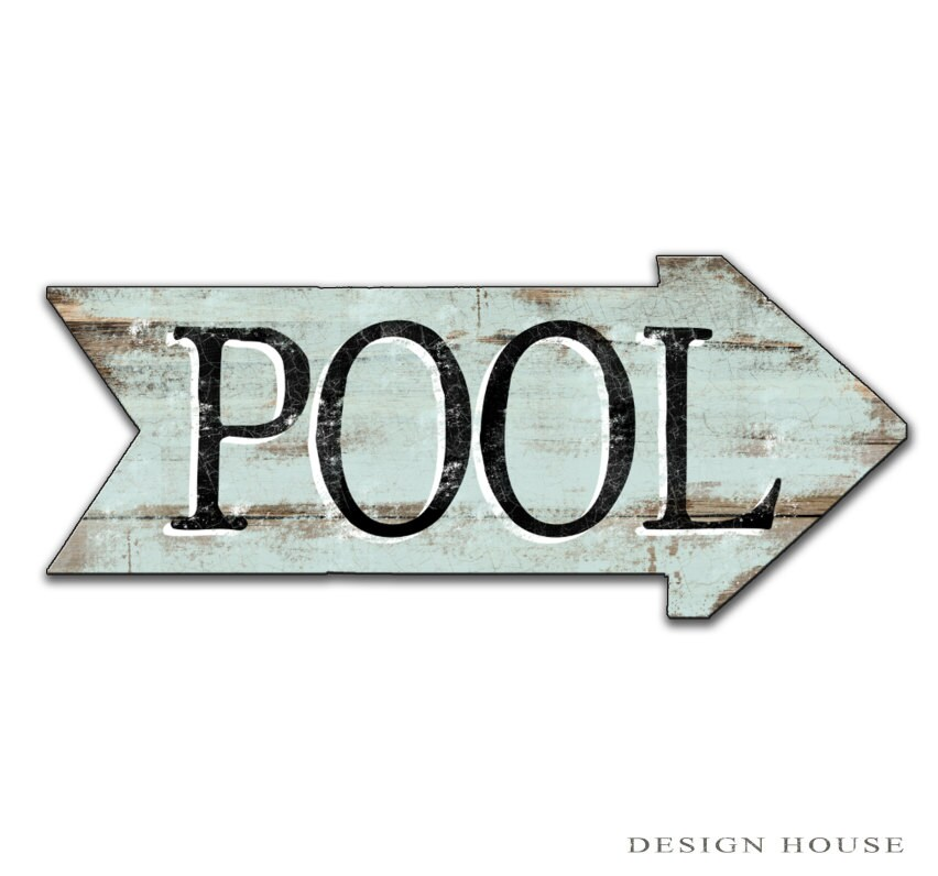 Pool signs patio signs swimming pool signs summer signs summer