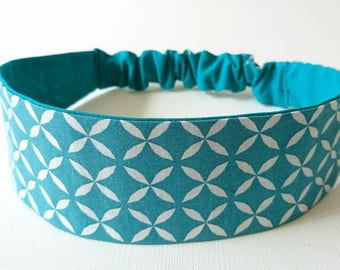 Headband, elastic headband, headband reversible woman