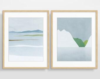 Nordic Art, Scandinavian Prints, Nordic Wall Decor, Large Minimalist Art, Abstract Coastal Art, Extra Large Wall Art, Minimalist Poster
