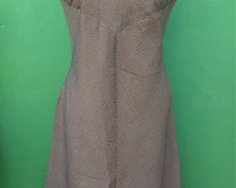 Made in Italy | Striped Dress | 80s dress Summer Dress Vintage Dress Stretching dress MIDI Dress Summer Vintage Dress