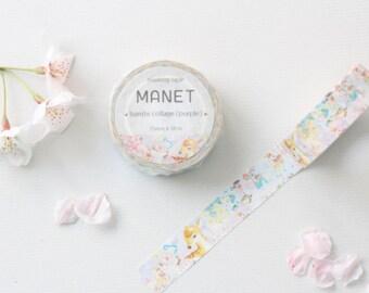 BAMBI & COLLAGE Washi Tape | Illustrated Washi Tape | Korean Washi Tape | Planner Sticker | Deco Tape | Scrapbooking | DIY | Japanese Tape