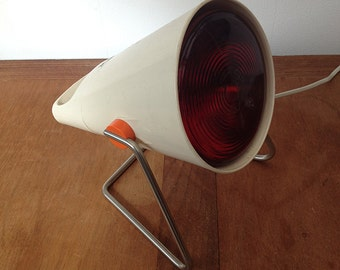 Vintage Infraphil Heat Lamp Design Charlotte Perriand for Philips 1960