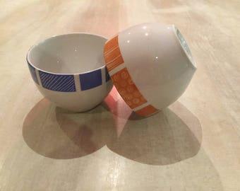 Bols porcelaine pour le Petit Déjeuner