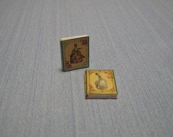 Gaël Miniature  Two Romantics Book  Marie Antoinette Books of fashion and home decor 1:6 Scale Or 1/12 Scale Dollhouse Miniature magazine