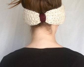 Ear Warmer || Headband || Oatmeal