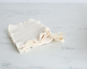 NEW!  100% Organic Cotton Sherpa Washcloth Mitt, Small