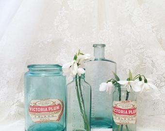Victoria Plum Large Glass Jam Jar