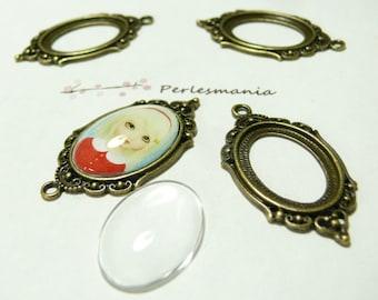 20 pieces: 10 pendants ref A18835 and 10 cab vintage frame