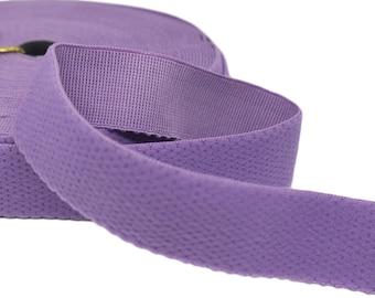"""3 yds Purple Plush Back Waistband Elastic - 1"""" (AC06)"""