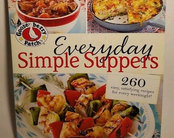 Everyday Simple Suppers Vintage Cookbook