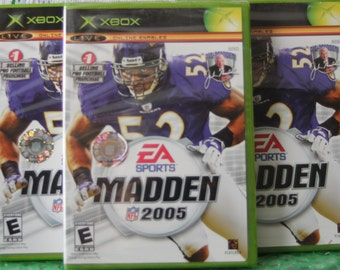 XBOX Madden 2005 - Factory Sealed