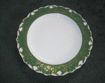 Antique c1898 Royal Worcester w6032 Porcelain Round Serving Platter