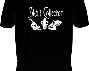 Madam Cora's Emporium Tee Shirt Skull Collector
