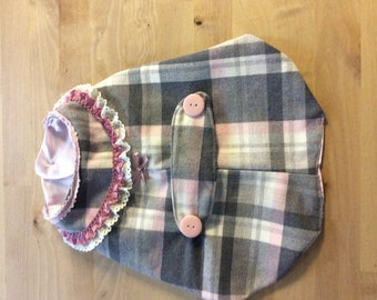 Bespoke Dog Coat to fit a small dog.