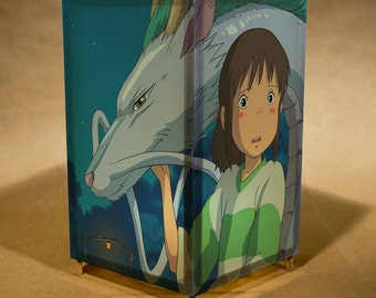Spirited Away / nightlight / light - featuring characters from the movie  (fan art / parody)