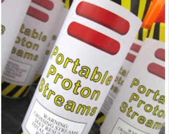 Portable Proton Stream Labels