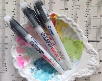 Pilot Black Gel Envelope Pen - 3 Sizes, Waterproof, Watercolors, Stationary