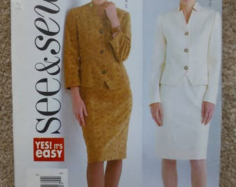 2003 See & Sew pattern 4000 Size 14-16-18