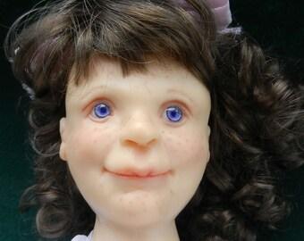 SALE Doll  Vintage Unique