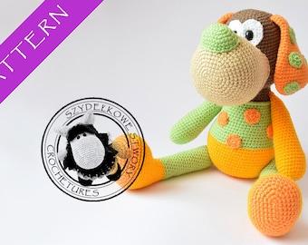 Kleo the dog crochet pattern