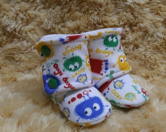 SALE! 0-6m ~ Primary Ooga Booga High Top Shoes