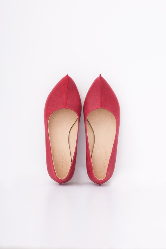 1ed64a731418d Women's Chunky ADIKILAV Leather Sale Shoes On Wide Red Red Pumps ...