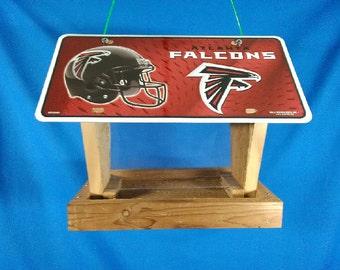 Atlanta Falcons license plate bird feeder (LP-727/2)