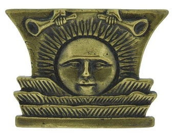 Sunstone Paperweight - Solid Brass - C8 - One Moment In Time
