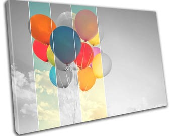 Balloon Canvas Print Home Decor- Abstract Wall Art - Modern Prints - Ready To Hang