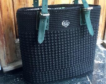 Hand made bag-Crochet bag