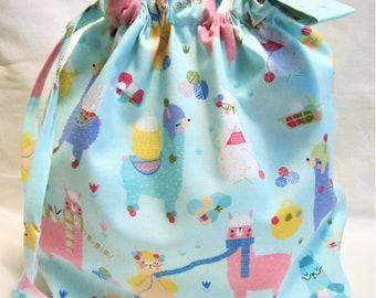 NEW - Small Box Bottom Knitting Project Bag
