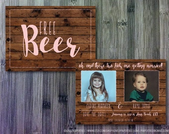 Free Beer Save the Date | SD22