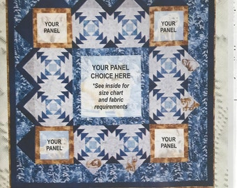 From Panel to Quilt by Coleen Merte - Northwater Quilts - Pattern