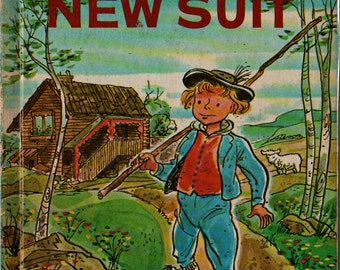 Pelle's New Suit + Elsa Beskow + George Wilde + 1975 + Vintage Kids Book
