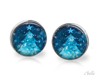 Christmas Earrings Winter-30