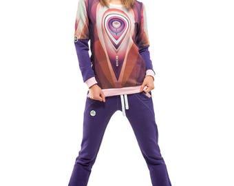 Orbit Sweatshirt (Violet)