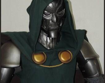 Life Size Classic Dr Doom Superhero Statue Prop
