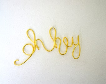 Oh Hey Sign In Wire For Wall - Fun Modern Apartment Decor