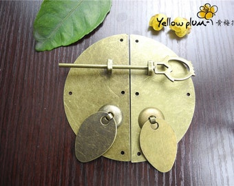 100*100 mm Antique Brass Color cabinet latch door latch cabinet latch door latch A025