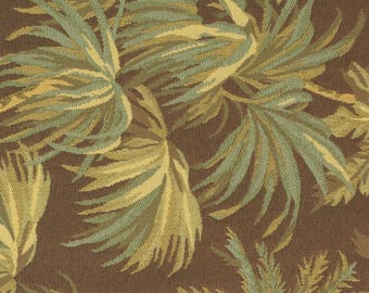 Tropical Palm Tree Jacquard Upholstery Fabric