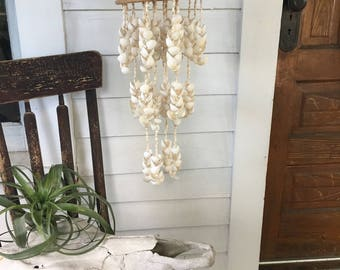 Vintage Seashell Chandelier / Mobile