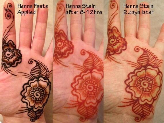 Mehndi Henna Kit Review : Glow in the dark henna kit mehndi bridal gift for her