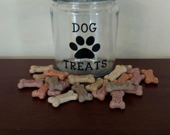 Dog Treat Jar.Dog Treat Container.Doggie Treats.Personalized Dog Treat Jar.Dog Treat Canister.Dog Treats Jar.Doggie Jar.Dog Lover Gift