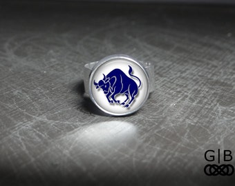 Taurus Ring Adjustable Taurus Ring Bithday In April Ring Birthday in May Ring Taurus Zodiac Ring Taurus Ring Adjustable Jewelry April Ring