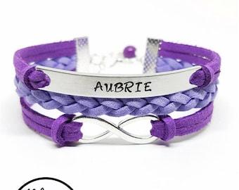 Kids Name Bracelet   Personalized Girls Name Bracelet   Childrens Bracelet   Kids Jewelry   Girls Jewelry   Flower Girl Bracelet