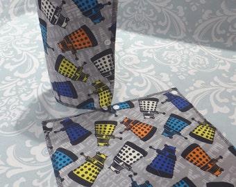 Doctor Who Unpaper Towels, reusable paper towels (set of 8)