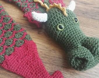 Dragon Neckwarmer scarf